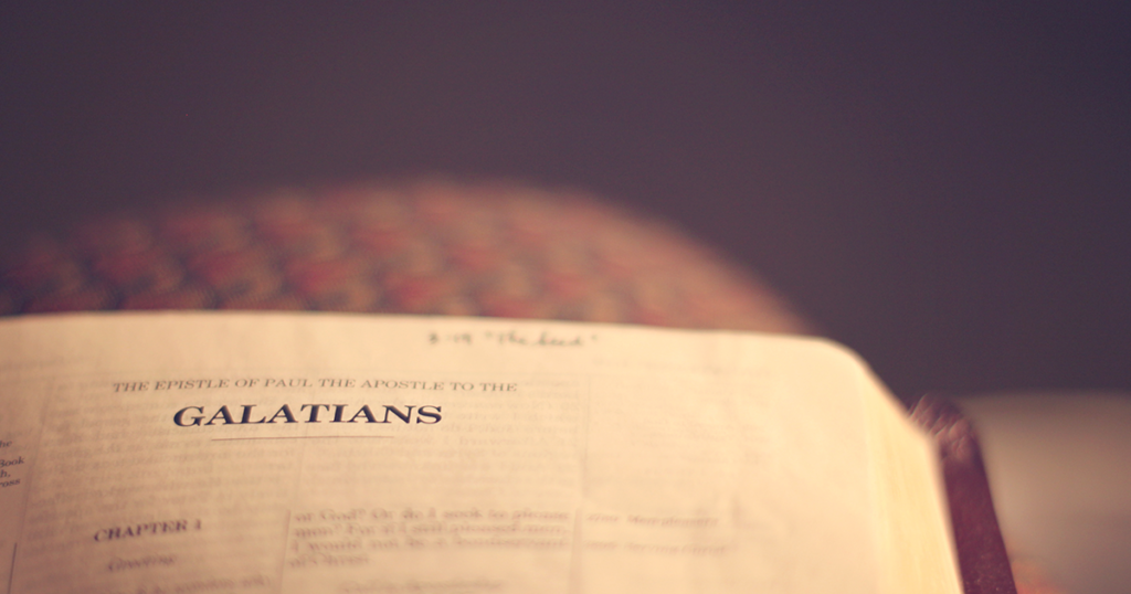 """İncil""""in Galatyalılar Mektubunun Yorumu"""